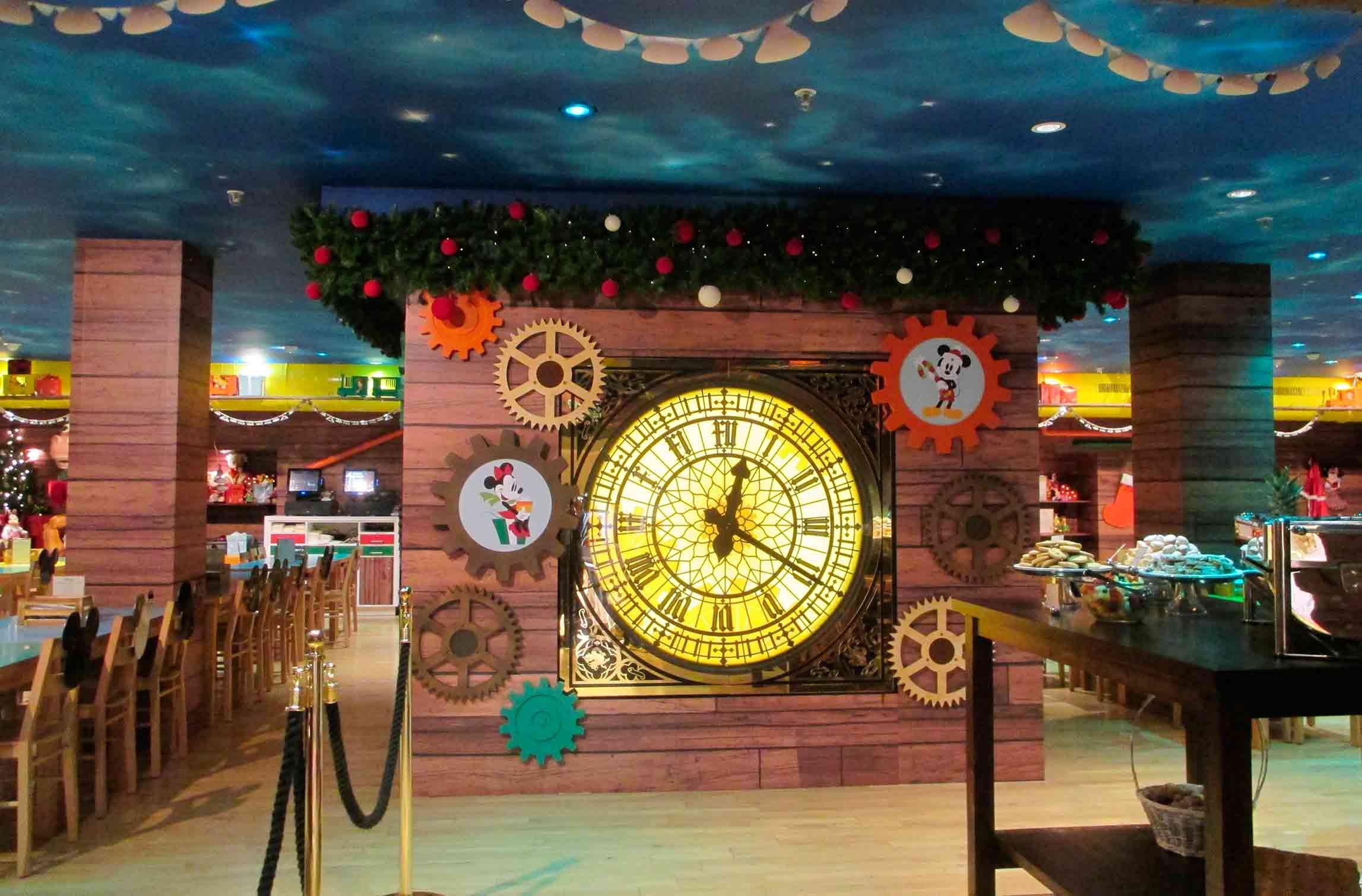 Harrods Disney Christmas Cafe 2015