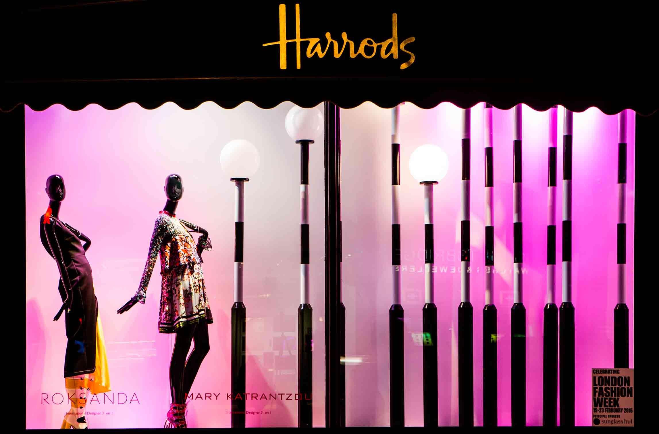 Harrods – London Fashion Week 2016